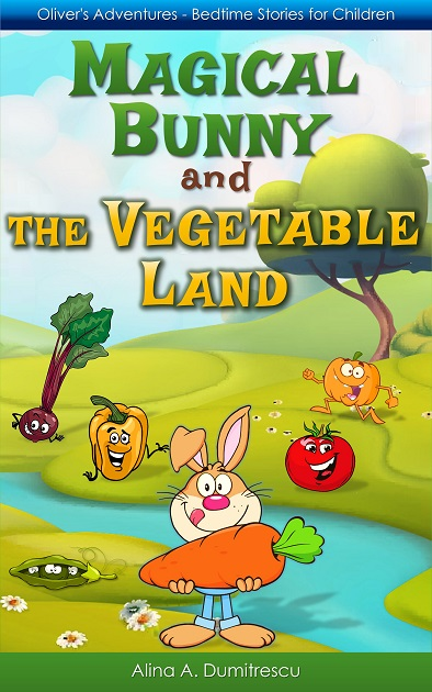 Magical Bunny and the Vegetable Land