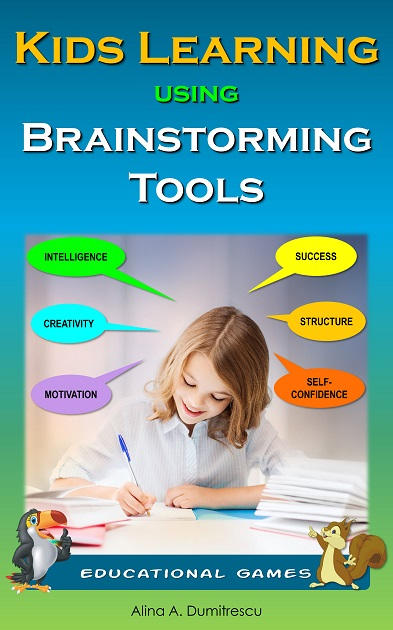 Kids Learning using brainstorming tools