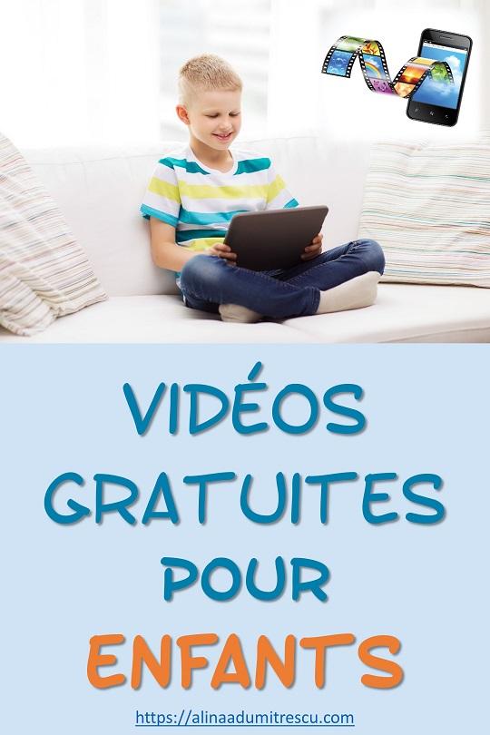 Vidéos gratuites pour enfants